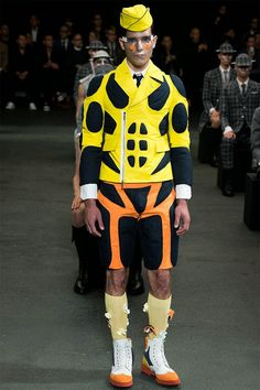 MIKE KAGEE FASHION BLOG: THOM BROWNE UNVEILS HIS FUTURISTIC SPRING/SUMMER 2...