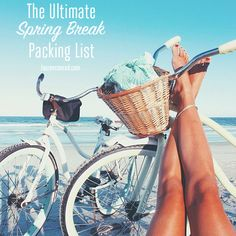 Tuesday Ten: Spring Break Packing List
