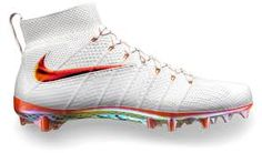Image result for white football cleats