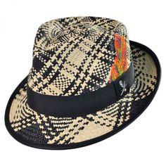 Carlos Santana Fenix Panama Fedora Hat Straw Fedora 92b2dedc830f