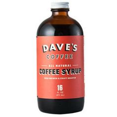 Cold-Brewed Coffee Syrup