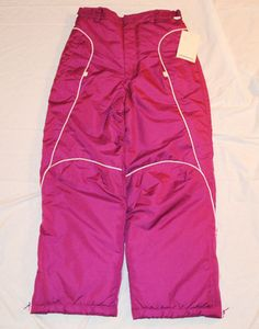 #shopping Starting Bid $17.99 Girls London Fog Snow Pants Size 10/12 Fuchsia New with Tags Free Shipping