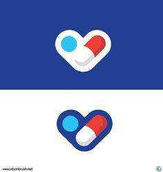 약국로고 일러스트 ai 샘플 free Pharmacy logo - Urbanbrush Brand Identity Design, Branding Design, Health Ads, Pharmacy Design, Basketball Design, Love Logo, Medical Logo, Hand Logo, Logo Design Inspiration