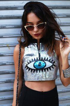 Alana Ruas: Womens Full Metal Fashion High Tip Pointed Cat Eye Sunglasses 9289