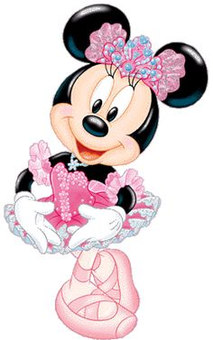 Baby Minnie Mouse Clip Art | Back to Mickey's Pals Clipart