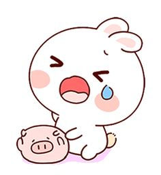 LINE Creators' Stickers - Happy bunny Sunny 2 Example with GIF Animation Cute Cartoon Pictures, Cute Couple Cartoon, Cute Love Cartoons, Cartoon Gifs, Bear Cartoon, Cute Cartoon Wallpapers, Cute Bear Drawings, Cute Kawaii Drawings, Cute Love Gif
