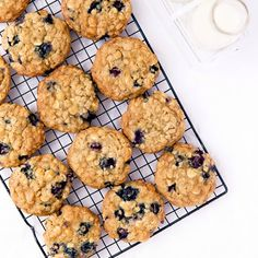 who woulda thunk that blueberries, oatmeal, and white chocolate would make the best cookie this chick's had in weeks? they're a must-try! #ontheblog #bromabakery