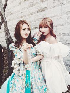 Hyuna & Gayoon my Princess. <3