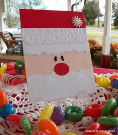 FS301 Cute Santa by vdm - Cards and Paper Crafts at Splitcoaststampers