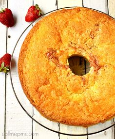 Strawberry Pound Cake