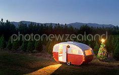 Starliner Caravans, New Zealand, Train, Vintage, Vintage Comics, Strollers