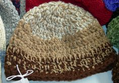 Double Crochet Hat (this is the one I'm following for DH's hat)