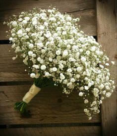 Bridesmaid Bouquet. Gypsophila. www.facebook.com/flowerpotpontyclun