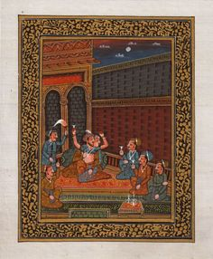 images of persian miniature gouache painting - Google Search