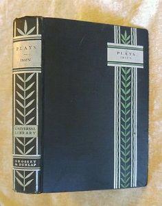 Four Plays of Henrik Ibsen Vintage Universal Library, Grosset & Dunlap