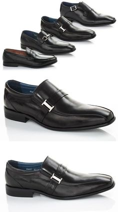 Dress Formal 53120: New Adolfo Couture Men S Slip On Milan 6 Leather Dress Shoes - Black - Size:13 -> BUY IT NOW ONLY: $83.99 on eBay!