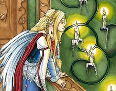 "Oonagh (""OO-nah""). Anglicized to Oona or Una; Meaning ""Unity"", ""Holy"" or ""Pure."" This Irish goddess is pure of heart and pure-magic, and can help you be the same. She is a Tuatha De Danaan and Fairy Queen. According to legend all who look on her are awestruck by her beauty. Oonagh can help you be awestruck by your own beauty, and the beauty all around you."