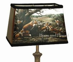 Fox Family Lampshade $138.00 - $158.00