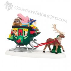 Department 56 - North Pole - North Pole Sleigh Ride #4036560  New for 2014