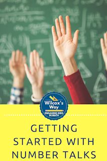 Tips and tricks to help you getting started with number talks in your middle school math or secondary math classroom Too Cool For School, Middle School, Math Classroom, Maths, Daily 5 Math, Number Talks, Math Talk, Framed Words, 7th Grade Math