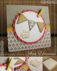 Cute birthday card or sign idea.