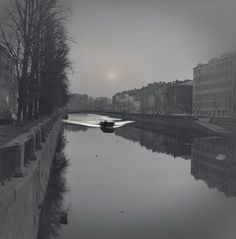 First boat after the ice break, Griboedov Canal, 2007 - St. Petersburg - Alexey Titarenko