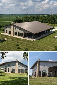 One Company- Many Beautiful Metal Building Homes - House Topics There is one company in US, which roots go back to 1903 selling interlocking fences. During more than 100 years, this company grown and scaled providing their customers highest quality … Morton Building Homes, Steel Building Homes, Building A House, Church Building, Metal Barn Homes, Pole Barn Homes, Pole Barns, Steel Frame House, Steel House