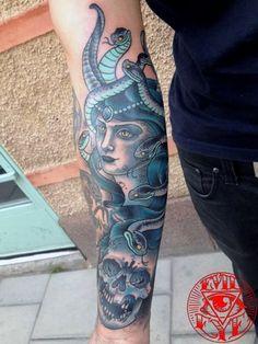 By Roger at Evil Eye Tattoo, Stockholm, Sweden