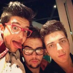 So adorable Gianluca, Piero, and Ignazio...IlVolo!