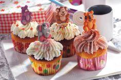 #Cupcake #Variationen, liebevoll dekoriert mit unseren Back & Decor Zuckerfiguren und Streudekoren. / Cupcake Variations, decorated with our cute Back & Decor sugar figurines and sprinkles!