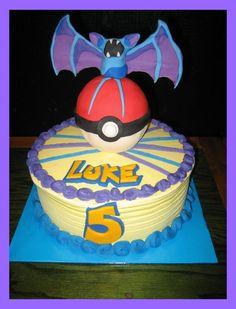 Pokemon Ice cream cake