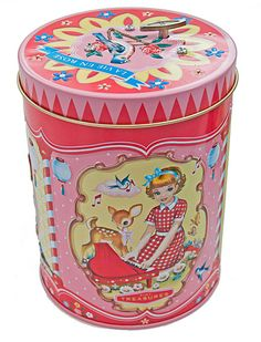 Music tin by WuandWu on Etsy