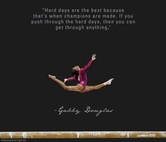gymnastics quotes | gymnastics quotes tumblr - Google zoeken | We Heart It