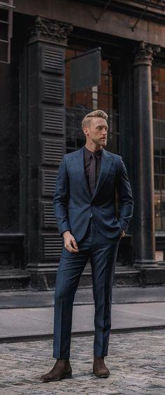 a6d5a4b4a46 Cool Suits For Men Ανδρικά Κοστούμια, Άνετο Ανδρικό Ντύσιμο, Ανδρική  Ένδυση, Στυλ Τζέντλεμαν