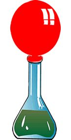 Blow up a Balloon with Yeast.  As the yeast eats the sugar, it releases a gas called carbon dioxide. The gas fills the bottle and then fills the balloon as more gas is created.