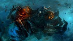 2014 Halloween scarecrow Wallpaper1 Free Scary Halloween ...
