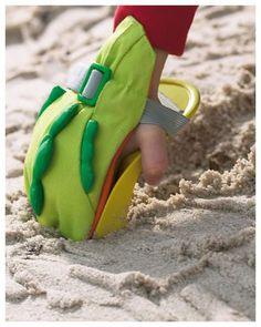 Haba Łopatko-rękawica do piasku Nietypowe, plażowe akcesorium