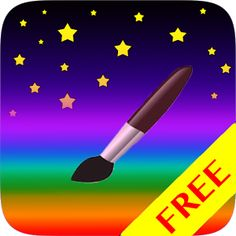 Kids Paint - free App downloadable . Great painting program for kids! Simple, interesting & fun Great for your creative little ones. Works on Smart phones.