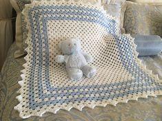 37 ideas crochet baby blanket boy easy girls for 2019 Baby Afghan Crochet Patterns, Baby Boy Crochet Blanket, Baby Girl Blankets, Baby Afghans, Knitting Patterns, Crochet For Boys, Baby Quilts, Baby Knitting, Creations