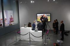 The Threadneedle Space looking very smart @LouisVuitton_US @America's Cup @Mall Galleries  @stratstoneuk #legendsinlondon
