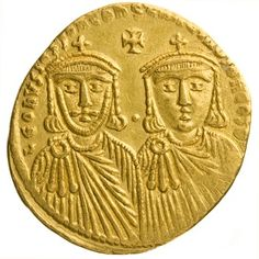 American Numismatic Society: Gold Solidus of Leo IV, Constantinople, 776 - Orthodox Catholic, Byzantine Gold, Gold And Silver Coins, Uncirculated Coins, Coin Collecting, Celtic, Madrid Barcelona, Barcelona Spain, Things To Sell