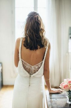 Parisian wedding dress designer Sophie Sarfati creates stunning bridal gowns. See our favorites!
