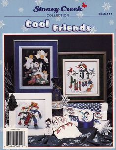 Cool Friends Stoney Creek Collection Cross by LucyGooseyDolls