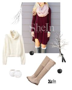 """""""Snow Shein"""" by enarasthings ❤ liked on Polyvore featuring CB2, Crate and Barrel and Jayson Home"""