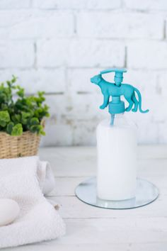 Dispensador original jabón diy : via La Chimenea de las Hadas