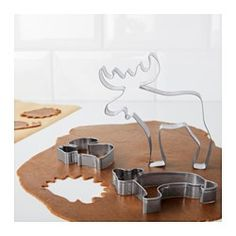 IKEA - DRÖMMAR, Pastry cutter, set of 6, Use your creativity and make baking a fun hobby by decorating your cookie shapes with icing and candy.