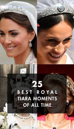 25 Best Royal Tiara Moments of All Time Royal Tiaras, Royal Jewels, Tiaras And Crowns, British Crown Jewels, Royal Princess, Princess Diana, Kate And Meghan, Family Jewels, Royal Weddings