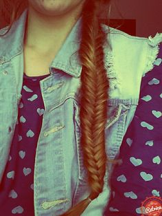 My hair♡♡Fishtail braid☆☆