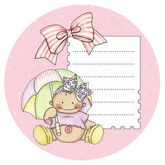 baby card-girl clipart