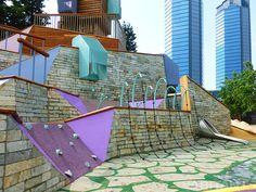 Дизайнерская детская площадка